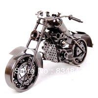 New Hand Carved Metal Art Model Motorcycle