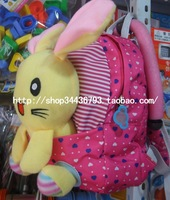 Cartoon rabbit bear kindergarten school bag cartoon child baby toy backpack school bag