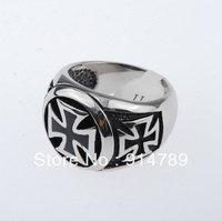 WWII GERMAN ELITE STYLE METAL CROSS RING -33353