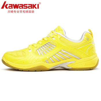 Professional badminton shoes kawasaki KAWASAKI sport shoes male Women slip-resistant ultra-light breathable Free Shipping
