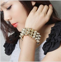 Accessories punk elsin rivet bracelet