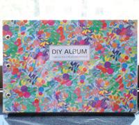 Millenum ld blue fashion handmade diy photo album the flowers - series photo album 10 photo album