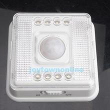 magnética 8 led luz inalámbricos infrarrojos pir sensor automático detector de movimiento #1jt(China (Mainland))