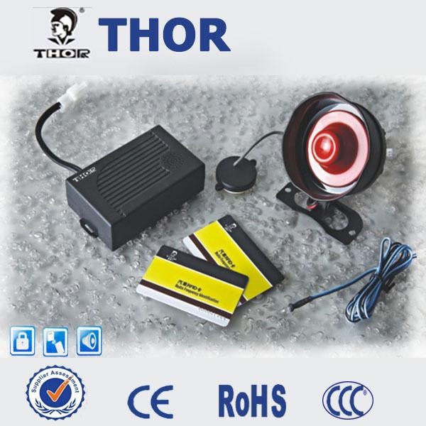 THOr RFID Car alarm system, auto alarmsystem(China (Mainland))