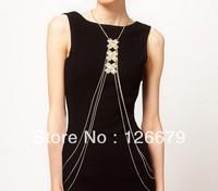Fashion Statement Charming Body Chain Unique Design Body Chain Jewelry