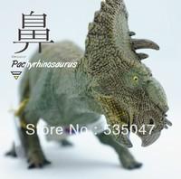 Free shipping SIMULATIONG Frence PAPO Jurassic Park Dinosaur model Dinosaur dolls Dinosaur Toy Pachyrhinosaurus model dolls