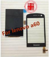 Lenovo A60 touch screen Black / White ,Lenovo a60 Original Touch Screen 100% Original Genuine +Free shipping