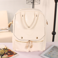 xmas gift bag 2014 vintage  PU  preppy style the trend of casual fashion women's handbag school