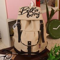 xmas gift bag Canvas women's handbag  school  vintage fashion student  casual