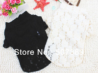 Newest Pet Clothing Pet  Subcoating Dog Puppy Girl Thinner Lace Subcoating  Lightest Pet  Subcoating