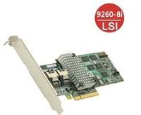 Original - LSI MegaRAID 9260-8i 8 Port 6Gb/s SATA/SAS PCI-Express 2.0 RAID Controller Card 512M - Single