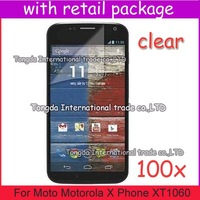 For Moto Motorola X Phone XT1060,screen protector guard film,100pcs/lot+free shipping