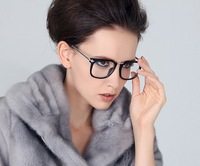 New Recommended European and American retro big box Unisex Metal frame glasses Free shipping 10 radiation glasses $ 56