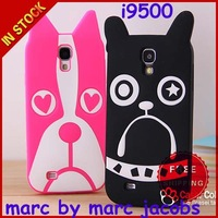 Marc Cute 3D Silicone Carton Creatures Animals Case for Samsung Galaxy S4 i9500 Note 2 N7100 owl cat dog zebra