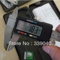 Inch electronic digital vernier caliper 0-150mm measuring industrial metal measuring tool length measurement Supplies