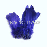 Free Shipping 200pcs/lots Loose Purple Soft Rod Goose Feathers 5-7inches/13-18cm RP-11