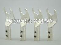 Hi-End silver plated hifi Spade Plug 8pcs
