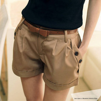 2013 Summer Korean Hot Short Pants Twill Shorts Korean Oversize Beach Shorts For Women S-XXXL