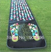 Best Selling! Colorful Plastic Foot Massage Pad Cushion Cobblestone Mat + Free Shipping