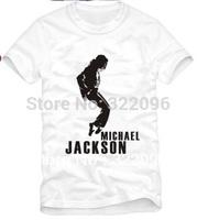Free Shipping Size 90/100/110/120/130/140/150cm kids tshirt MICHAEL JACKSON T SHIRT mj top mj dance t shirt 100% cotton 3 color