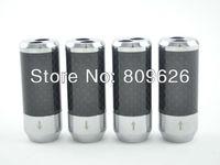4 pcs Carbon fiber Speaker Cable Audio Cable Wire Pants Boot Y splitter 1 to 2