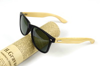 Bamboo sunglasses mirror driver sun glasses diaoyu mirror male female vintage eco-friendly