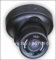 Fisheye Lens 360 Degree Rotation 1/3 SONY CCD 600TVL 8 Privacy Masking Areas IR Waterproof Mini Dome CCTV Camera KA-C360
