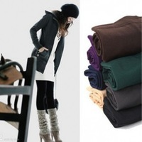 Winter All-match fashion legging rompers single tier bamboo brushed pantyhose pants