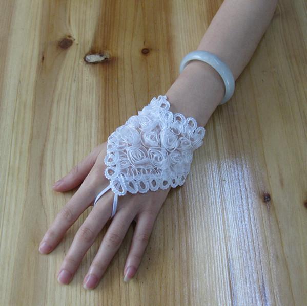 Митенки своими руками свадебные 14
