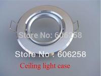 MR16 Spotlights Ceiling Bracket  Lighthouse Led Light Lamp Cup Aluminum Silver Holders 10PCS