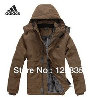 Middle-aged men's warm down jacket free shipping