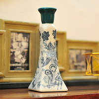 Chinese style ceramic mousse crack fashion vintage mousse decoration quality mousse decoration