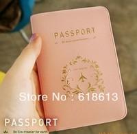 Travel iconic brief elegant lovers design passport holder passport cover