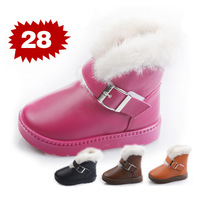 2013 boys and girls snow boots, thick velvet warm cotton-padded non-slip boots, children winter boots fashion