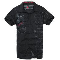 Desigual 2012 male short-sleeve shirt men's clothing short-sleeve shirt