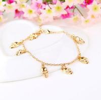 2014 Top Fashion New Bracelets For Women Pulseiras Femininas One Direction Wholesale European Style Retro Skull Bracelet B287