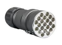 1pcs UV Ultra Violet Blacklight 21 LED Flashlight Torch Lamp Light