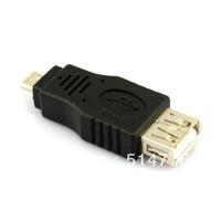 Standard USB 2.0 Female to Micro Male Adapter Converter,hdmi male to usb female adapter,USB adapter,free shipping 10pcs/lot