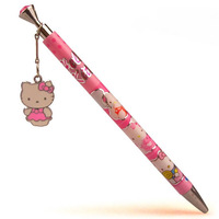Free shipping 48 pcs/lot Lovely cartoon ball pen Hello kitty school supplies High quality ballpoint pen Cute school pens