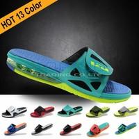 2013 13color New Arrival Lebron X 10 breathable Fashion sports Velcro men sandals Slippers Top Quality Slide Elite