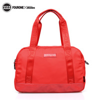 Fashion nylon fourone2013 casual solid color women's handbag messenger bag 9378