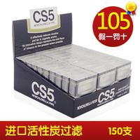 Cigarette holder disposable cs5 filter cigarette holder resin smoking 150 blue