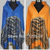 New arrival hot sales winter warm female fashion elegant cotton women leopard dress scarf shawl free shipping
