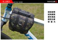 Bilateral camouflage bag bike bag saddle bag wrapped tube mountain bike accessories bike riding equipment