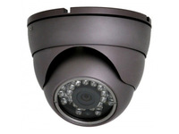 "Free shipping  Indoor Outdoor 700TVL 1/3"" Sony CCD Night IR 3.6mm Dome Security CCTV Camera 10 Pcs"