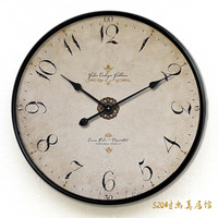 Fashion vintage fashion big watches and clocks Large tieyi silent pocket watch wall clock