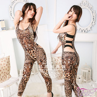 Tiger luxury sexy jumpsuit ol fashion female temptation 's charming set 9682
