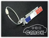 Peugeot peugeot sport flag standard peugeot key chain key ring keychain peugeot