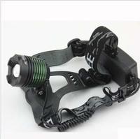 Led headlamp high power t6 caplights fishing lamp glare flashlight 18650 battery