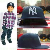 2014 spring boy Adjustable cap hip-hop flat along cap children baseball cap fashionable casual age 4-8A children cap hat retail